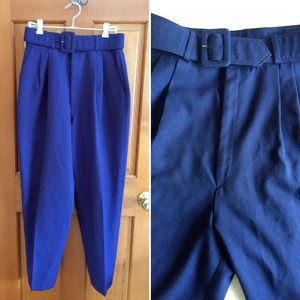 Vintage high waisted Dorlene made in Canada pants